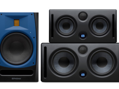 PreSonus Expands Studio Monitor Range with Air Motion Transformer and MTM Models