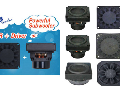 Tang Band Speakers Announces Compact Bundled Subwoofer Products
