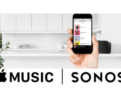 Sonos Previews Apple Music Streaming Integration