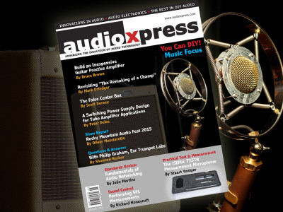 audioXpress January 2016 Music Focus Edition is Now Available