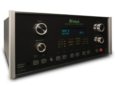 McIntosh new MX160 A/V Processor Combines UHD, Dolby Atmos and Auro-3D