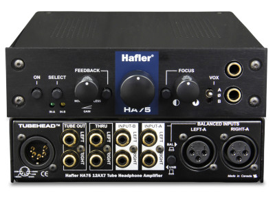 Hafler's HA75 Tube Head Headphone Amplifier Gets Recognition
