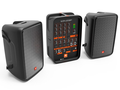 JBL Professional Introduces New EON208P Portable PA System and EON618S Powered Subwoofer at Winter NAMM 2016