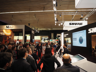 Shure Introduces Microflex Advance Dante Networkable Conferencing Audio Solution at ISE 2016