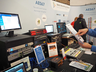 Media Networking Alliance Creates AES67 Momentum at ISE 2016