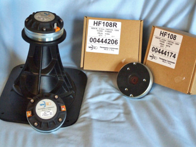 Test Bench - Faital Pro's HF108/HF108R compression drivers coupled with LTH102 60° × 50° horn
