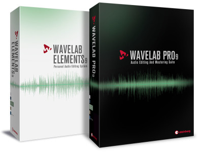 Steinberg Releases WaveLab Pro 9 and WaveLab Elements 9