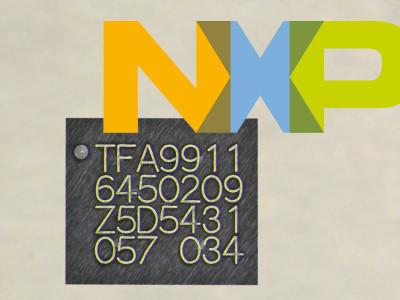 NXP New TFA9911 Smart Sensing Amplifier Turns Smartphone Speaker Into Microphone, Vibration Sensor with Superior Audio Performance