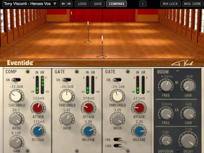 Eventide Unveils T-Verb Dynamic Reverb Plug-In Based On Bowie Session Techniques