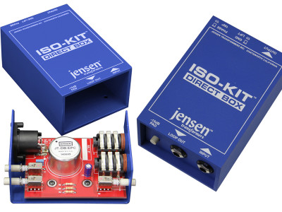 Jensen Introduces the JIK-DB1 Iso-Kit for Audio Engineering Students
