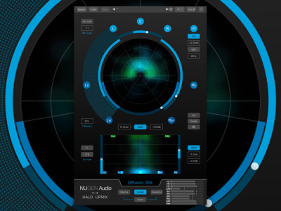 NUGEN Audio Releases 9.1 Option for Halo Upmix With Full Support for Dolby Atmos and Overhead Positioning