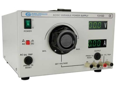 Global Specialties Releases New Digital AC/DC Power Supply