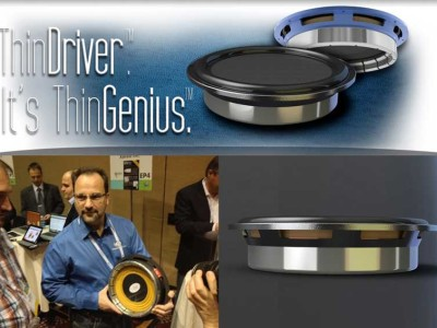 Prescient Audio Awarded at CES 2014 For Its Revolutionary ThinDriver TD-12