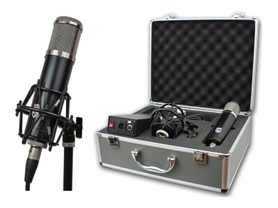 "Lauten Audio Introduces ""Series Black"" Vacuum Tube Condenser Microphone"