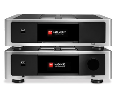 New NAD Masters Series M32 Direct Digital Amplifier and M50.2 Digital Music Player