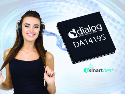 Dialog Semiconductor's SmartBeat Audio IC Enables a New Immersive Headset Experience