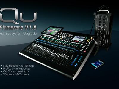 Allen & Heath Announces Major Updates to QU Series Mixers