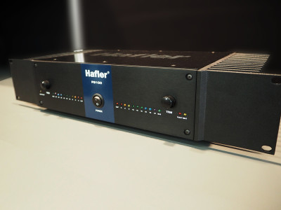 New Hafler P3100 2-Channel Amplifier Featuring Patented Lateral MOSFET Trans-nova Technology