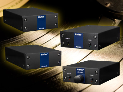 Hafler Launches New Line of Phono Stages and SUTs for Turntables