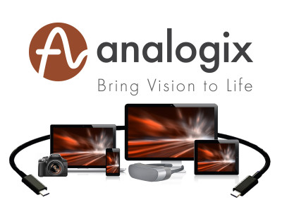 Analogix Ships Over 10 Million DisplayPort over USB-C Controllers and Transmitters
