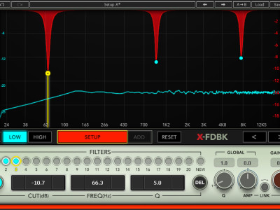 Waves Audio Introduces X-FDBK Feedback Eliminator Plugin