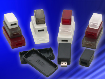 Hammond Introduces Miniature Enclosures Optimized For USB Interconnect