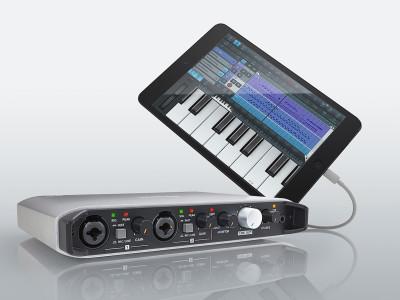 Tascam Ships iOS Optimized iXR USB Audio/MIDI Interface