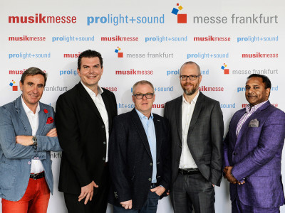 New Organizational Structure for Musikmesse and Prolight+Sound Shows