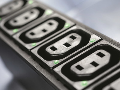 New IEC Light Pipe Appliance Outlet from Schurter Provides Status Indication