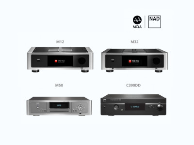 MQA Now Available on NAD BluOS-enabled Systems