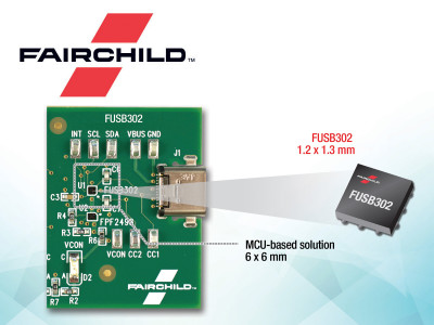 Fairchild's Portfolio of USB Type-C Solutions is Compatible with Latest Type-C Specifications