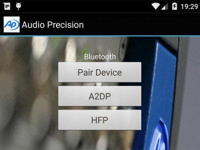 Audio Precision Releases Updated Android Smartphone Audio Test App