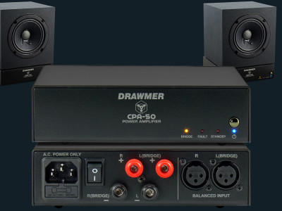 Drawmer Introduces CPA-50 Small-Footprint Stereo Amplifier
