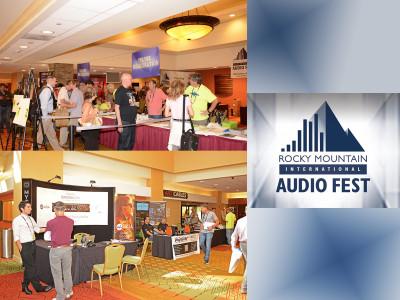Work in Progress at The Rocky Mountain International Audio Fest (RMAF) 2016