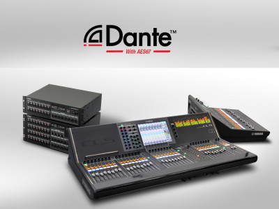Yamaha Dante Products To Support AES67 Audio Network Interoperability