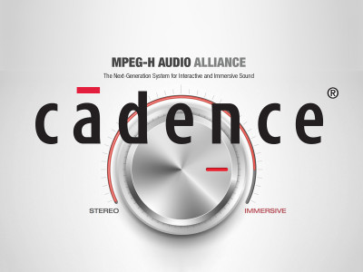 Cadence Offers Industry's First Licensable MPEG-H Audio Decoder for Tensilica HiFi DSPs