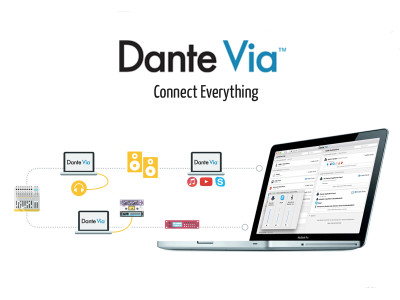 Audinate Updates Dante Via to 1.1 Adding Multichannel and ASIO Support