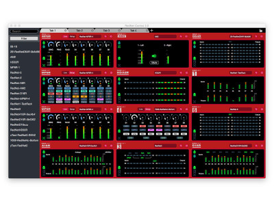 Focusrite Announces RedNet Control 2.0 Supporting Control of Larger Systems