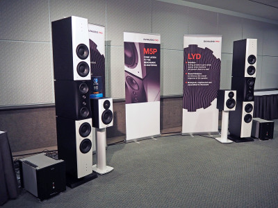 Dynaudio Introduces M5P Evidence High-End Mastering Speakers at AES 2016