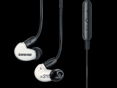 New Shure SE215M+ Special Edition Sound Isolating Earphones