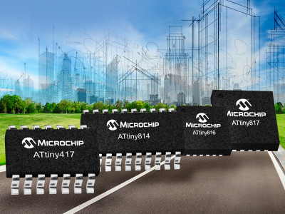 Microchip Launches New Generation of 8-bit AVR MCUs with Core Independent Peripherals