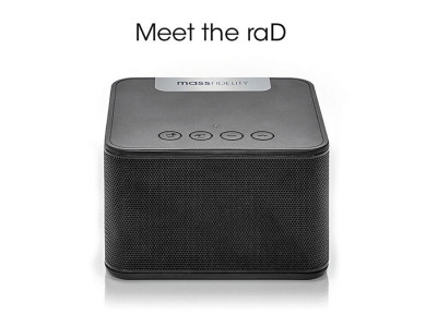 Mass Fidelity is Back on Indiegogo with the Rad Portable Wireless Speaker With Radial Dispersion Technology