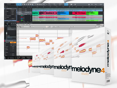 Celemony Releases Melodyne 4.1 Note-Based Editing Audio Software
