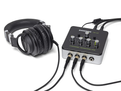 Samson Launches New QH4 4-Channel Compact Desktop Headphone Amplifier