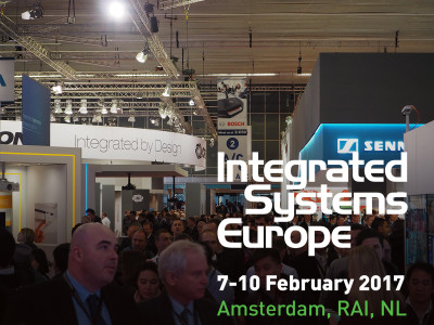 Smart Everywhere at Integrated Systems Europe (ISE) 2017