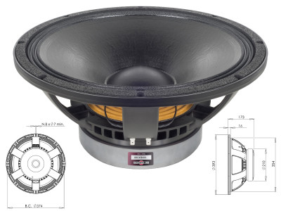 B&C Speakers Expands RBX Series Subwoofer Range