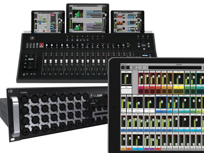 Mackie AXIS Digital Mixing System Now Shipping