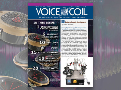 Complete Loudspeaker Industry Focus: Voice Coil February 2017 Now Available!