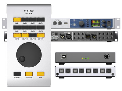 RME Announces New USB Recording Interfaces and New ARC USB Advanced Remote Control at NAMM 2017