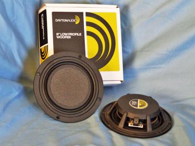 "Test Bench: Dayton Audio LW150-4 6"" Ultra-Low-Profile Midwoofer"
